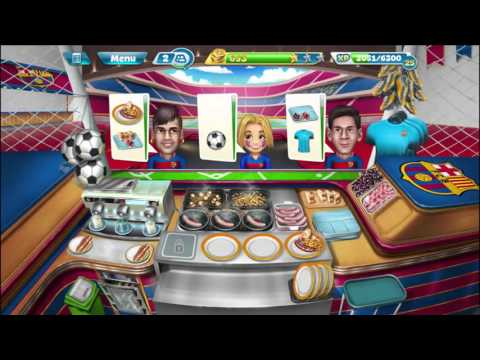 Cooking Fever: Barcelona Sports Bar Levels 18-20