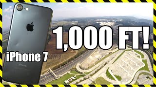 Video iPhone 7 Drop Test - From 1,000 FEET!! DON'T TRY THIS MP3, 3GP, MP4, WEBM, AVI, FLV Mei 2017