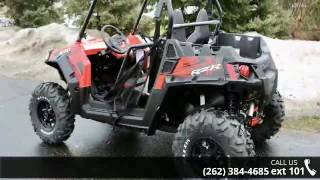 4. 2017 Polaris RZR S 570 EPS Indy red  - Action Power Sport...