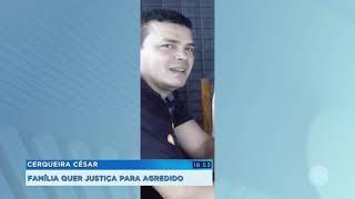 Cerqueira César: homem que agrediu colega de trabalho segue foragido