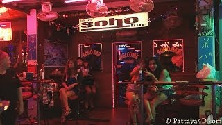 Pattaya Soi 6 Nigh tlife On Christmas Eve Dec 24 Happy New Year 2014