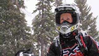 4. Bret Rasmussen on the 2012 Arctic Cat M800 ProClimb