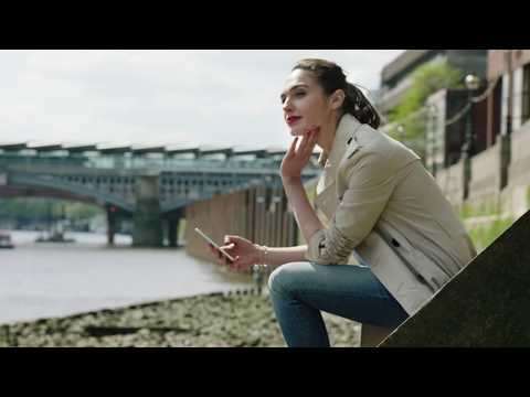 Makeup for Gal Gadot for the HUAWEI P9 commercial