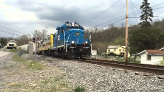 Bellefonte (PA) United States  City pictures : Bellefonte PA - Pleasant Gap PA Train 4/22/16