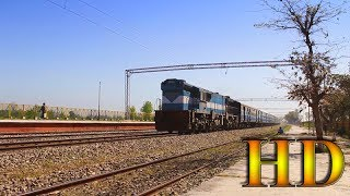Kuchesar India  city photos gallery : IRFCA - Pure High Speed Diesel Action Of Ala Hazrat Express At Kuchesar Road Station