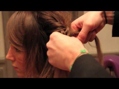 Comment faire une tresse en attache sur cheveux longs en 2 minutes ?