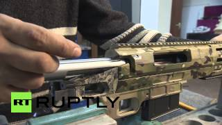 Russia: These Lobaev SNIPER rifles are probably the world's best
