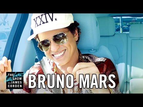 Carpool Karaoke with Bruno Mars