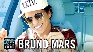 Bruno Mars Carpool Karaoke Video