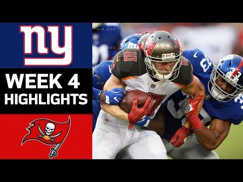 Video: Giants vs. Buccaneers | NFL Week 4 Game Highlights