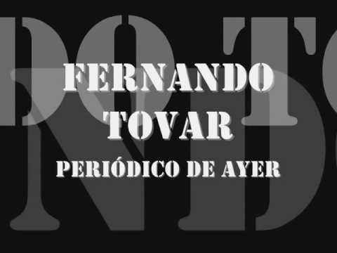 Fernando Tovar -  Periódico de Ayer