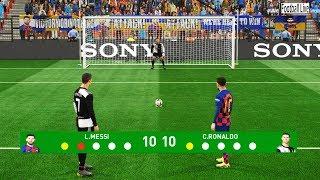 Video PES 2019 | Penalty Shootout | Team Messi vs Team Ronaldo MP3, 3GP, MP4, WEBM, AVI, FLV Mei 2019