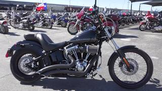 9. 018724 - 2012 Harley Davidson Softail Blackline   FXS - Used motorcycles for sale