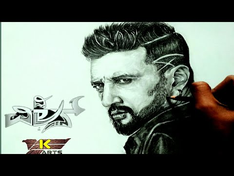 Video The villain :sudeep drawing. download in MP3, 3GP, MP4, WEBM, AVI, FLV January 2017