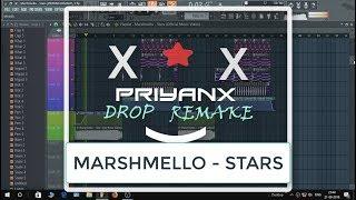 Marshmello - STARS (100% ACCURATE DROP REMAKE & FREE FLP)