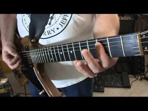 Heavy Metal & Hard Rock Basic Rhythm Guitar Lessons. 1 Finger Chords & Drop D Tuning By Scott Grove