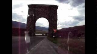 Gardiner (MT) United States  city images : Wyoming Motorcycle Trip 19 - Canyon Village to Gardiner, Montana
