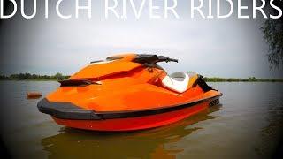 6. SEADOO GTI 155 2012 Full Pull Top Speed test - DUTCH RIVER RIDERS