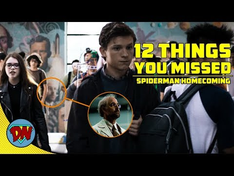 12 Things You Missed In Spider-man Homecoming | Explained In Hindi