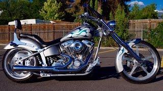 5. 2003 Big Dog Mastiff Custom Softail Pro-Street Chopper Motorcycle 10,673 Miles $8,987 FOR SALE!