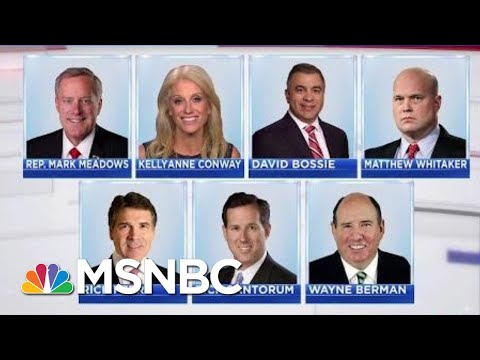 President Donald Trump Frustrated As Chief Of Staff Pick Declines Offer | Velshi & Ruhle | MSNBC