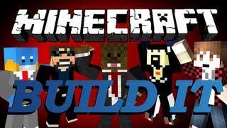 Minecraft Build It (Draw My Thing) Minigame w/ Antvenom, BajanCanadian, HuskyMudkipz, SSundee #6