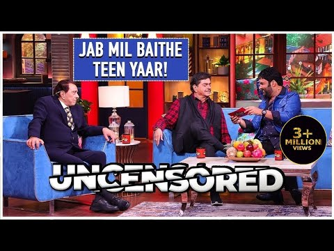 Laugh Out With The Legends Uncensored | The Kapil Sharma Show | Dharamendra & Shatrughan Sinha