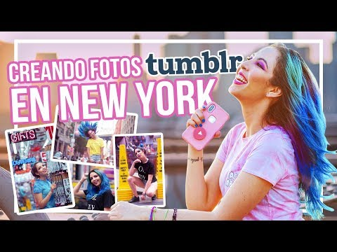 CREANDO FOTOS TUMBLR En NEW YORK ¡La Pereztroica!