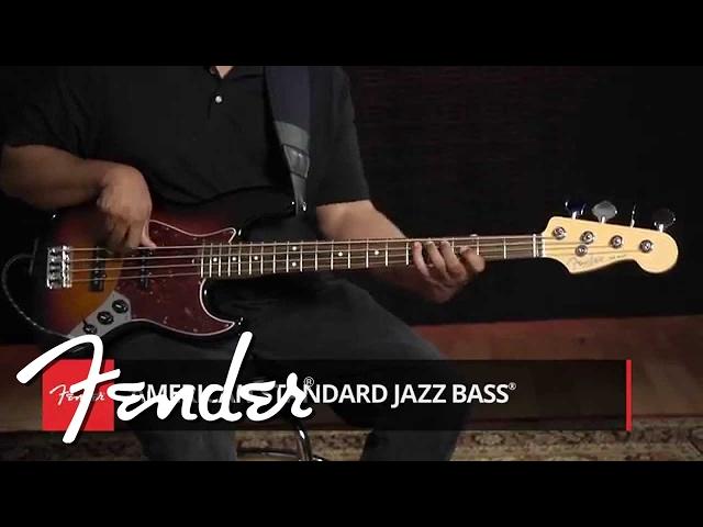 American Standard Jazz Bass Demo | Fender