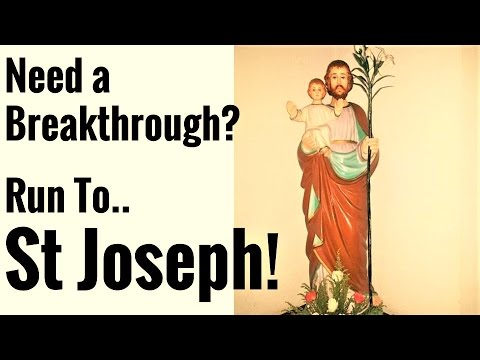 Mighty Protection from St Joseph, 7 Sorrows/Joys - Impossible Desperate, Jobless, Security, Fathers