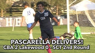 CBA 2 Lakewood 1 |  SCT Second Round