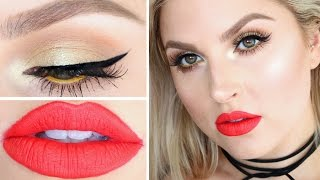 Chit Chat Get Ready With Me ♡ Fun Colorful Summer Makeup! by Shaaanxo