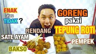 Video COBA GORENG PAKE TEPUNG ROTI !! インドネシア料理揚げてみた! MP3, 3GP, MP4, WEBM, AVI, FLV November 2018