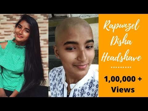 Rapunzel Disha Head Shave - Indian Girl Shocking Headshave