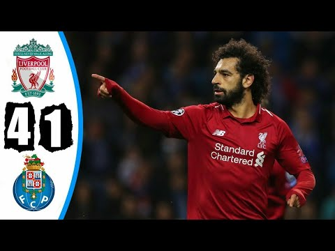 Liverpool Vs Porto 4-1 All Goals & Highlights 17/04/2019 HD