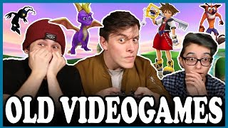 Playing OLD VIDEOGAMES! | Thomas Sanders