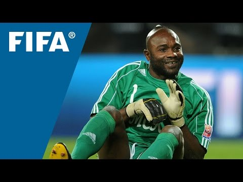 man - TP Mazembe and DR Congo goalkeeper Robert Kidiaba explains his 'donkey' dance and talks about his colouful history in the game. Mazembe make history: http://www.youtube.com/watch?v=CPQ_3-hB47o...