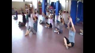 Download Lagu Sasa Nukufetau - (danza con percusión corporal) PEDAGOVILA Mp3