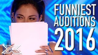 Video FUNNIEST X Factor UK Auditions From 2016! | X Factor Global MP3, 3GP, MP4, WEBM, AVI, FLV Maret 2019