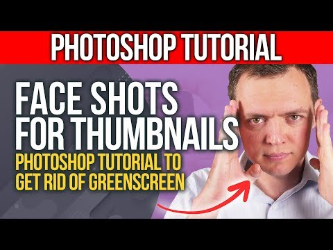 Taking Face Shots For Thumbnails + Photoshop Action To Getting Rid Of Greenscreen #insidebsi 11