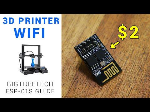 Add wifi to your Bigtreetech mainboard/touchscreen - ESP-01S guide