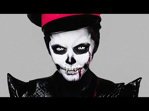 Zombie Skull Makeup – Halloween Skeleton Makeup Tutorial!!