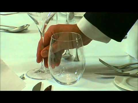 dining - Here we have an example of the training that we provide to our staff members. This video clip allows us to show candidates how to provide a formal dining ser...