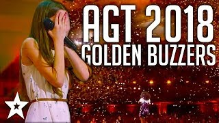 Video All Golden Buzzers Auditions on America's Got Talent 2018 | Got Talent Global MP3, 3GP, MP4, WEBM, AVI, FLV Maret 2019