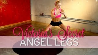How to Get Legs Like a Victoria's Secret Angel Model - YouTube