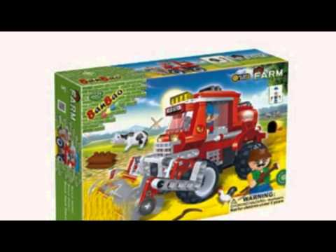 Video Video advertisement for the Wheat Harvester Toy Building Set