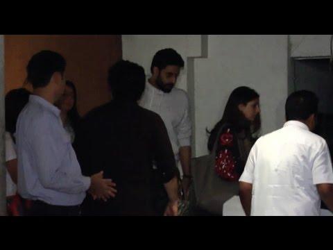 Abhishek Bachchan, Sajid Khan At Sonali Bendre's