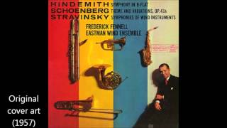 "Igor Stravinsky - ""Symphonies of Wind Instruments"""