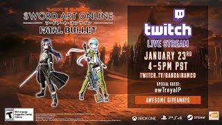 Bandai Namco провели стрим по Sword Art Online: Fatal Bullet