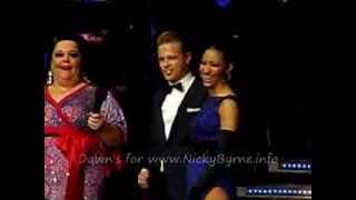 Nicky Byrne & Karen Hauer SCD 2014 Live Judges Comments Argentine Tango 20-01-14